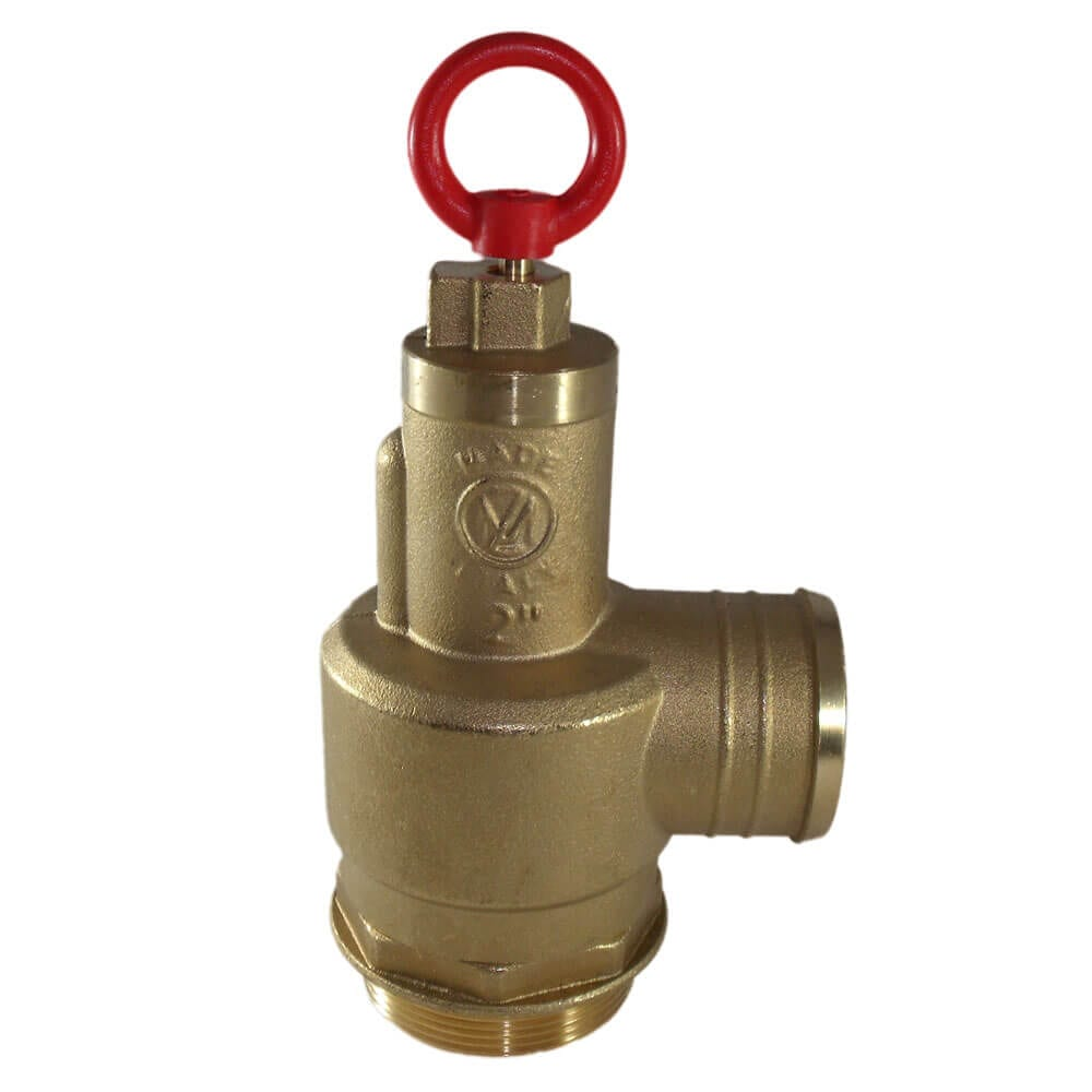 Brass pressure release valve quot cfm mz